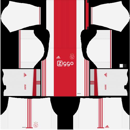 Ajax Amsterdam Kits   Logo URL Dream League Soccer 2017-2018 480440c00