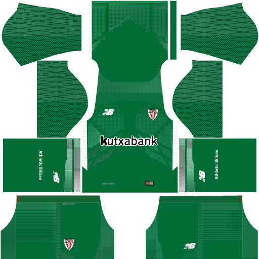 Athletic Bilbao GK Home Kit 17 - 18 DLS