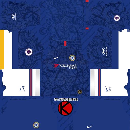 Chelsea Home Kit 2019-2020