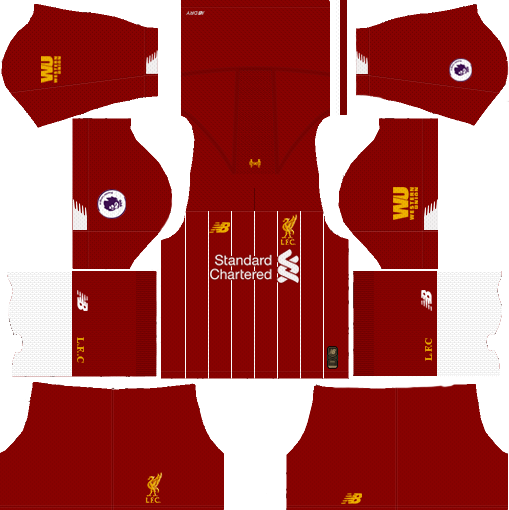 Liverpool Home Kit 2019-2020