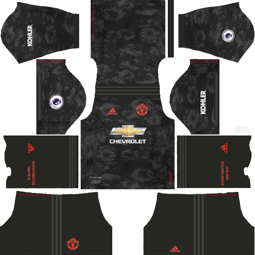Manchester United Kits Logo 2019 2020 Dream League Soccer