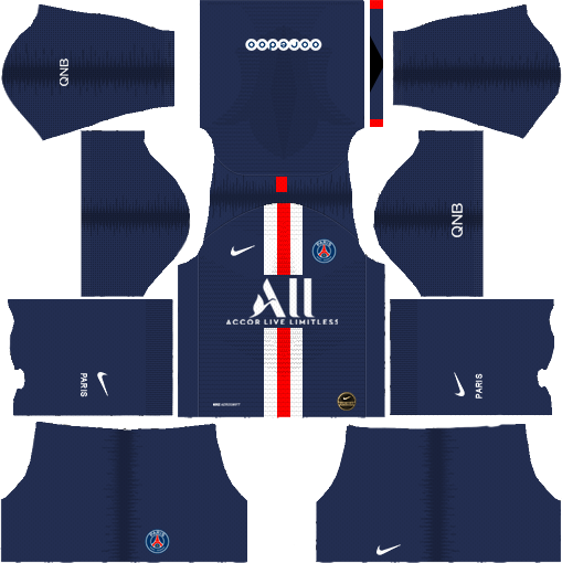 PSG Home Kit 2019-2020
