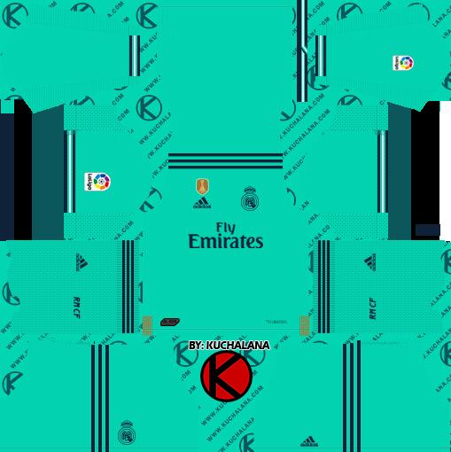 Real Madrid C F 2019 2020 Kit Dream League Soccer