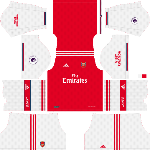 promo code ac1c4 1d593 Arsenal FC 2019-2020 Kit & Logo - Dream League Soccer